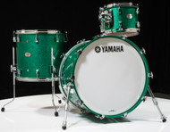 Yamaha Absolute Hybrid Maple 3pc Jade Green Sparkle