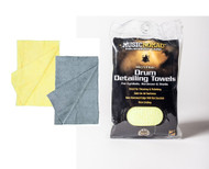 Music Nomad Microfiber Drum Detailing Towels - 2 pack