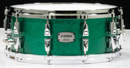 Yamaha Absolute Hybrid Maple 14x6 Snare - Jade Green Sparkle