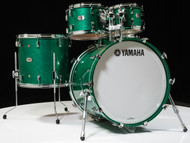Yamaha Absolute Hybrid Maple 5pc Jade Green Sparkle