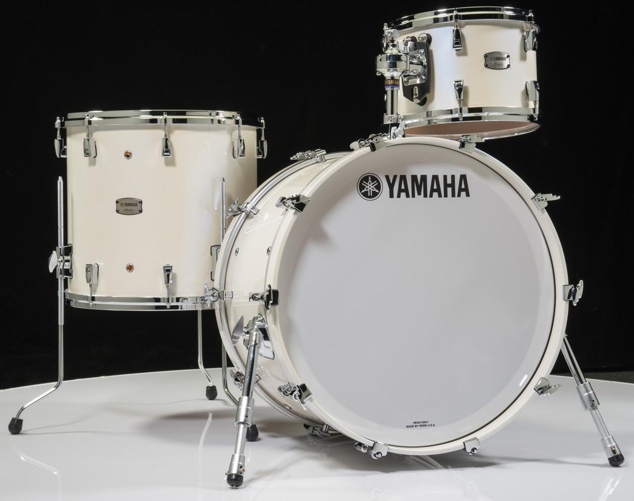 Yamaha Absolute Hybrid Maple 3pc Polar White