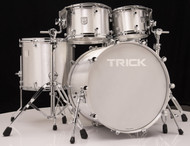 Trick Drums USA 5pc Raw Polished Shell Pack