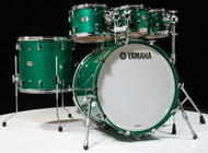 Yamaha Absolute Hybrid Maple 6pc Jade Green Sparkle