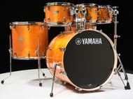 Yamaha Stage Custom Honey Amber 6pc Shell Pack 8/10/12/16/22/14SD