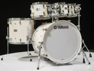 Yamaha Absolute Maple Hybrid 5pc Polar White 8/10/12/16/22