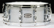 Yamaha Absolute Hybrid Maple 14x6 Snare - Silver Sparkle
