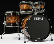Tama Starclassic Walnut/Birch 4pc Shell Pack - Molten Brown Burst