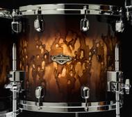 Tama Starclassic Walnut/Birch 14x12 Floor Tom - Molten Brown Burst