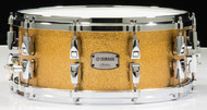 Yamaha Absolute Hybrid Maple 14x6 Snare - Gold Champagne Sparkle