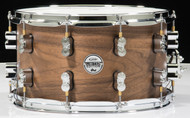PDP Limited Edition Maple/Walnut 8x14 Snare - Natural Satin