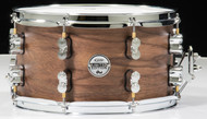 PDP Limited Edition Maple/Walnut 7x13 Snare - Natural Satin