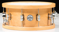 PDP Concept Maple 6.5x14 Wood Hoop Snare - Natural