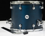 DW Design Series 12x14 Floor Tom Midnight Blue