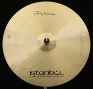 "Istanbul Agop Joey Waronker Signature 24"" Ride"