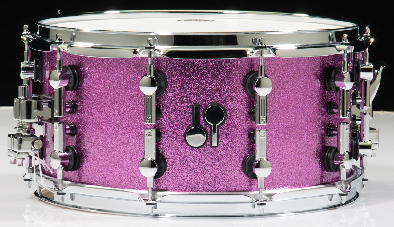 Sonor SQ2 Snare Drum 14 x 7 Bright Violet Sparkle - Birch