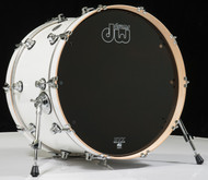 DW Performance Series 14x22 Kick Drum - Gloss White