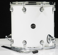 DW Performance Series 16x16 Floor Tom - Gloss White