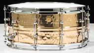 Ludwig Supraphonic Hammered Bronze 6.5x14 Snare Drum