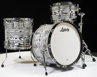 Ludwig Classic Maple FAB 3pc Shell Pack - White Strata