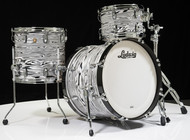 Ludwig Classic Maple Downbeat 3pc Shell Pack White Strata