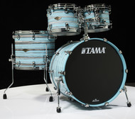 Tama Starclassic Walnut/Birch 4pc Shell Pack - Arctic Blue Oyster