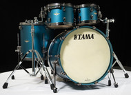 Tama Starclassic Maple 4pc Shell Pack - Flat Steel Blue Metallic