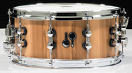 Sonor SQ2 African Marble 14x6.5 Snare Drum with Chrome Hardware