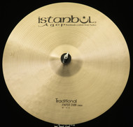 "Istanbul Agop 18"" Traditional Paper Thin Crash"