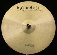"Istanbul Agop 20"" Traditional Crash Ride"