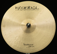 "Istanbul Agop 19"" Traditional Dark Crash"