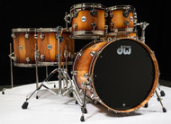 DW Collector's 6pc Shell Pack - Toasted Almond Fade w/ Nickel