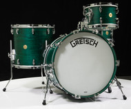 Gretsch Broadkaster 4pc Shell Pack- Satin Caribbean Blue (12/16/22/14SD)