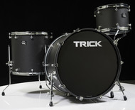 Trick Drums USA VMT2 3pc Shell Pack - Cast Black