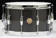 Gretsch Broadkaster 8x14 Snare Drum - Gloss Black Metallic