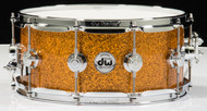 "DW Collector's 6"" x 14"" Snare - Burnt Orange Glass"