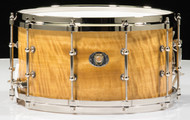 Ludwig 7x14 Aged Exotic Avodire 110th Anniversary Snare Drum