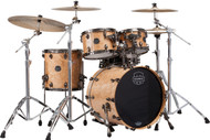 Mapex Saturn V Exotic Shell 4pc Fusion Shell Pack - Natural Maple Burl