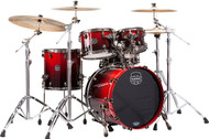 Mapex Saturn V Exotic Shell 4pc Fusion Drums - Cherry Mist Maple Burl