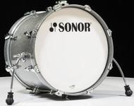 Sonor AQ2 20x16 Bass Drum  - Titanium Quartz Lacquer