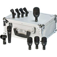 5-piece Fusion Drum Mic Package - Affordable Excellence   The Fusion Series microphones, which are designed, assembled and tested by Audix in the USA, fulfill all the performance criteria required for professional stage and studio applications. These prepackaged sets of microphones offer convenience, quality, durability, and affordability. All mics come with high impact mic stand adapters and are packed in a heavy duty foam lined aluminum carrying case for safe keeping when the products are not in use.