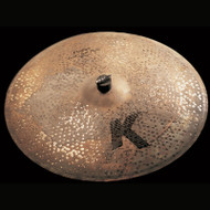 "Zildjian 20"" K Custom Left Side Ride Cymbal W/3 Rivets"