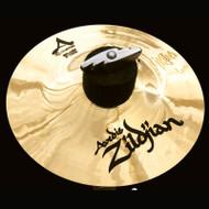 "Zildjian 6"" A Custom Splash Cymbal Brilliant"