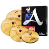 "Zildjian A Custom Box Cymbal Pack Free 18"" Crash 14/16/18/20"