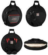 Ahead Deluxe Heavy Duty Cymbal Bag W/Padded Back Pack Straps