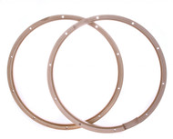 "PDP PDAXWH1410P 14"" 10 Lug Wood Hoops for Snare Pair"
