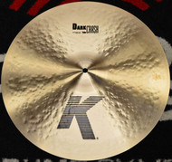 "Zildjian 17"" K Dark Crash Cymbal Thin"