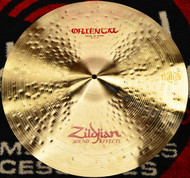 "Zildjian 20"" Oriental Crash Cymbal Of Doom"