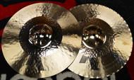 "Zildjian 14 1/4"" K Custom Hybrid Hi Hat Cymbal Pair"