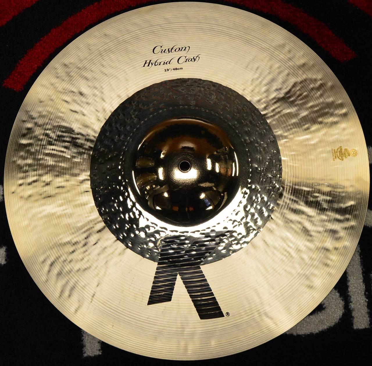 zildjian 19 k custom hybrid crash cymbal. Black Bedroom Furniture Sets. Home Design Ideas