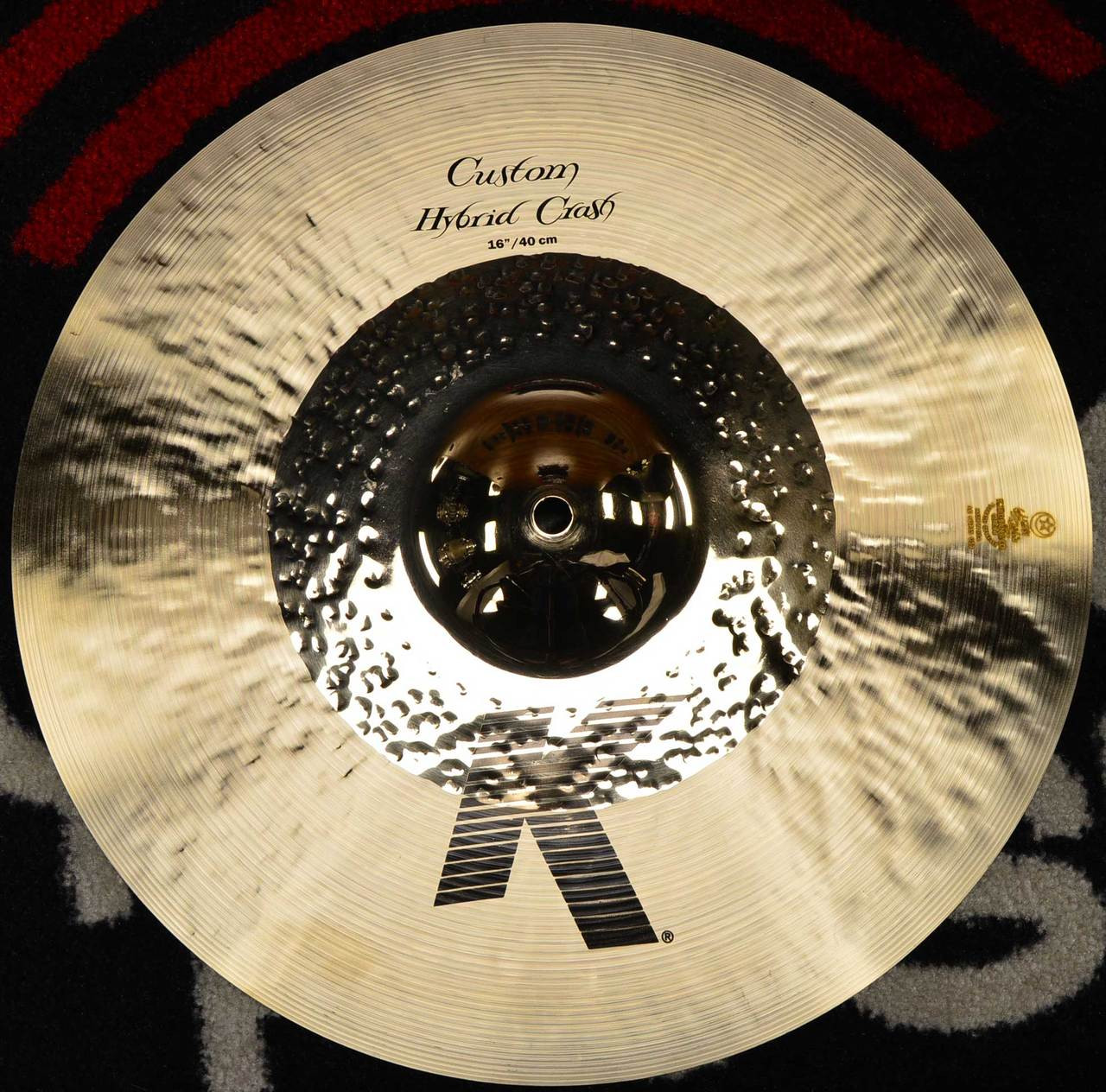zildjian 16 k custom hybrid crash cymbal. Black Bedroom Furniture Sets. Home Design Ideas